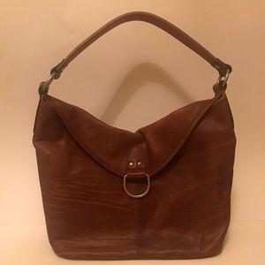 NWOT Frye Campus Leather Hobo Bag